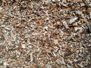Another close up of the virgin woodchip